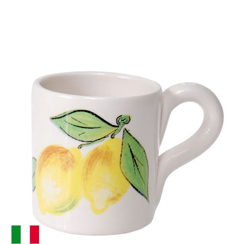 Dan Samuels – Limoncello Authentic Rustic Italian Mug 10cm (Made in Italy)