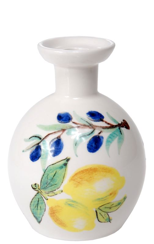 Dan Samuels – Limoncello Authentic Rustic Italian Oil Bottle 15cm (Made in Itlay)