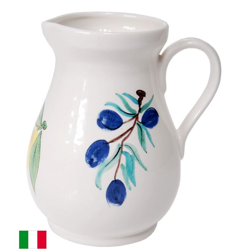Dan Samuels – Limoncello Authentic Rustic Italian Pitcher 20cm (Made in Italy)