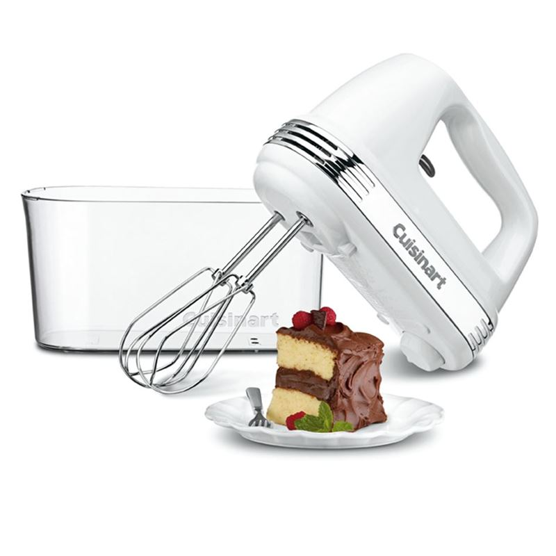 Cuisinart – 9 Speed Mixer with Storage White