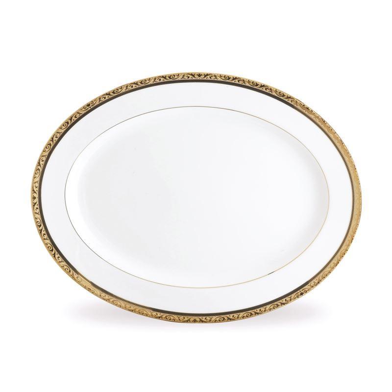 Noritake – Regent Gold Oval Platter 34.5x26cm