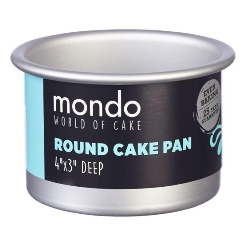 Mondo – Pro Cake Pan Round 10×7.5cm