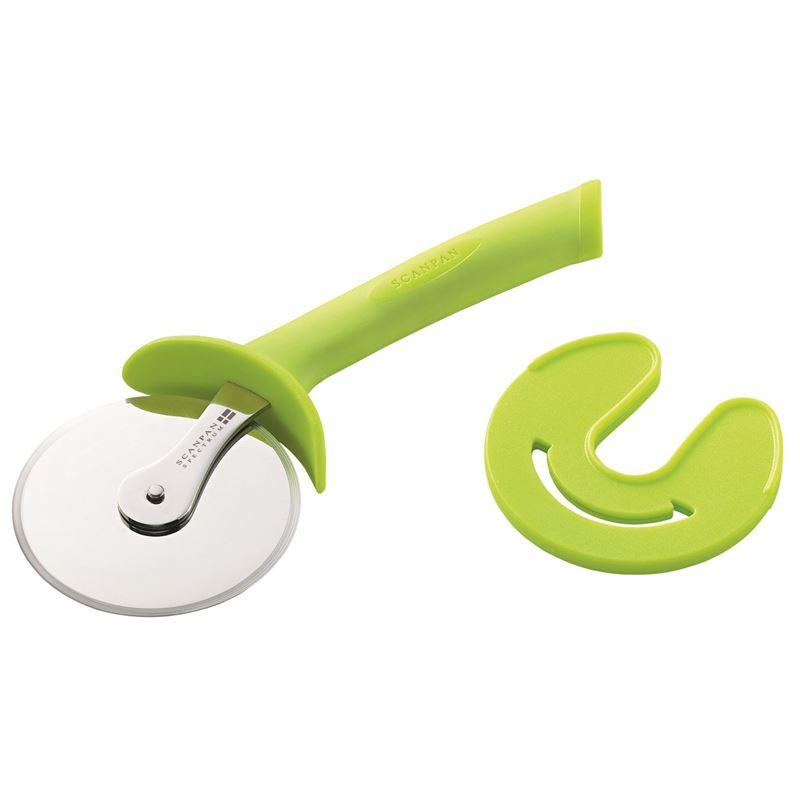 Scanpan – Spectrum Soft Touch Coloured Handle Pizza Cutter Green