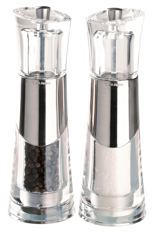 Cole & Mason – Bobbi 18.5cm Salt and Pepper Grinder Set