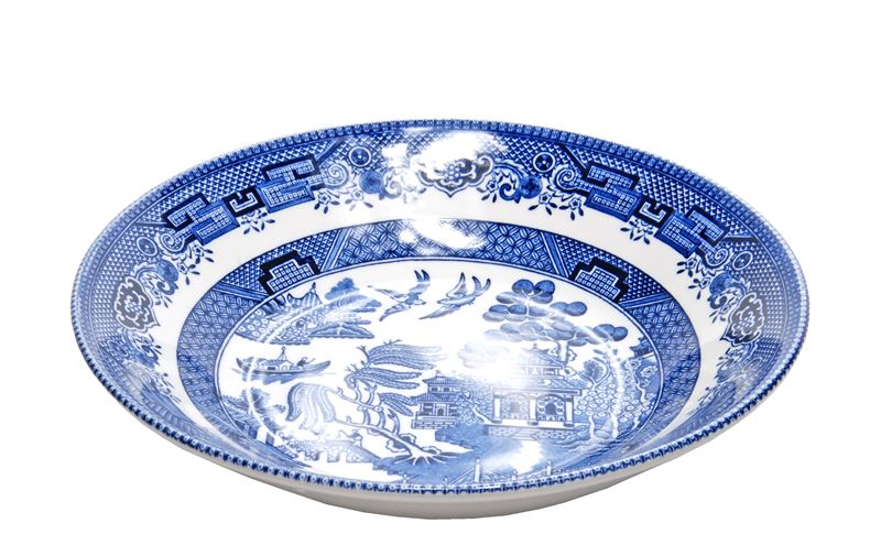 Churchill – Blue Willow Coupe Bowl 20cm (Made in England)