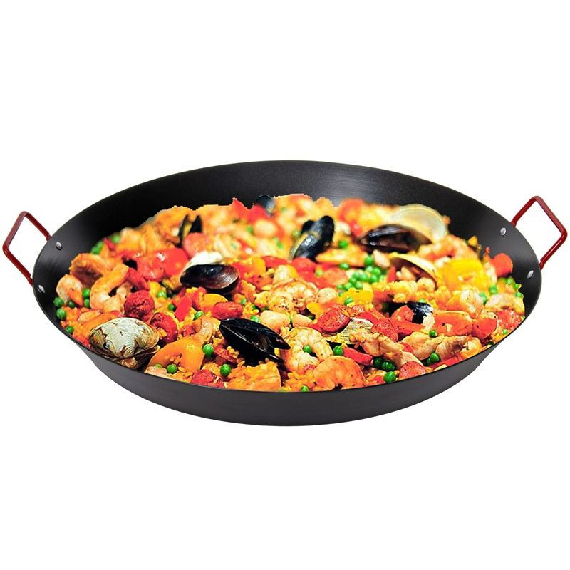 Las Palmas – Non-Stick XXL Paella Pan with Red Handles 50cm