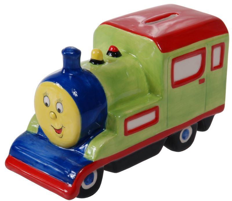 Benzer Junior – Toot Toot Ceramic Train Money Box