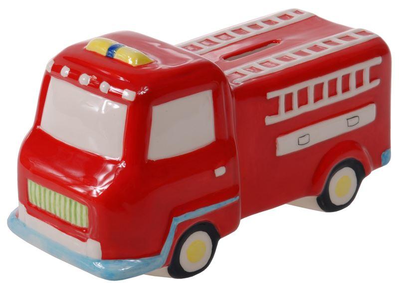 Benzer Junior – Mack Ceramic Firetruck Money Box