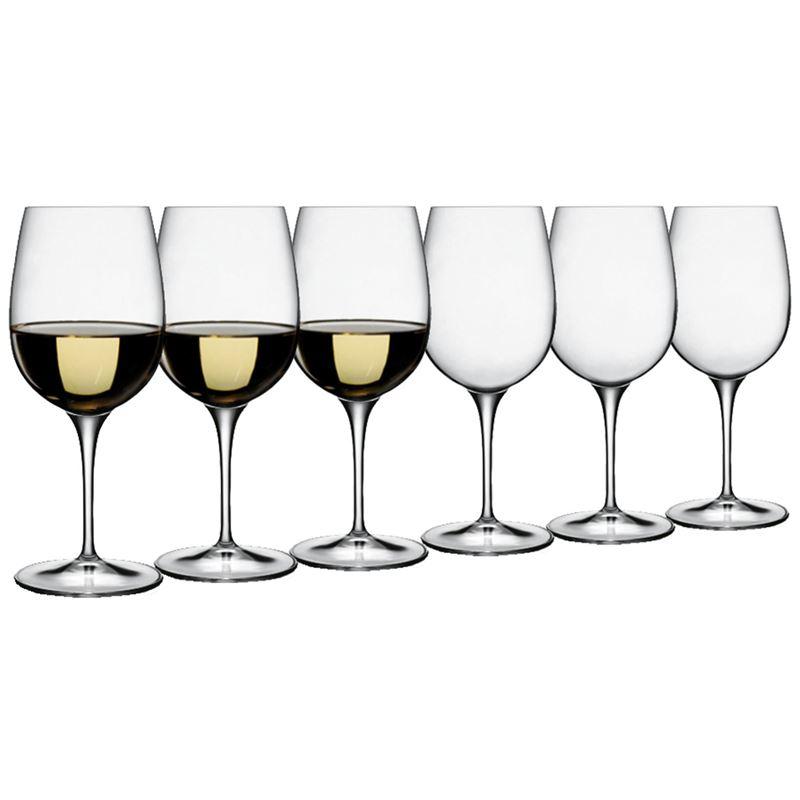 Luigi Bormioli – Palace Vino Bianco White 325ml Set of 6 (Made in Italy)