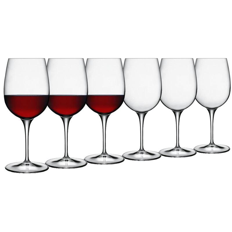 Luigi Bormioli – Palace Vino Rosso Red 365ml Set of 6 (Made in Italy)