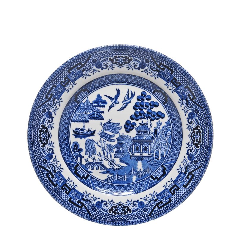 Blue Willow by Queens Churchill – Side Plate 17cm (Made in England)