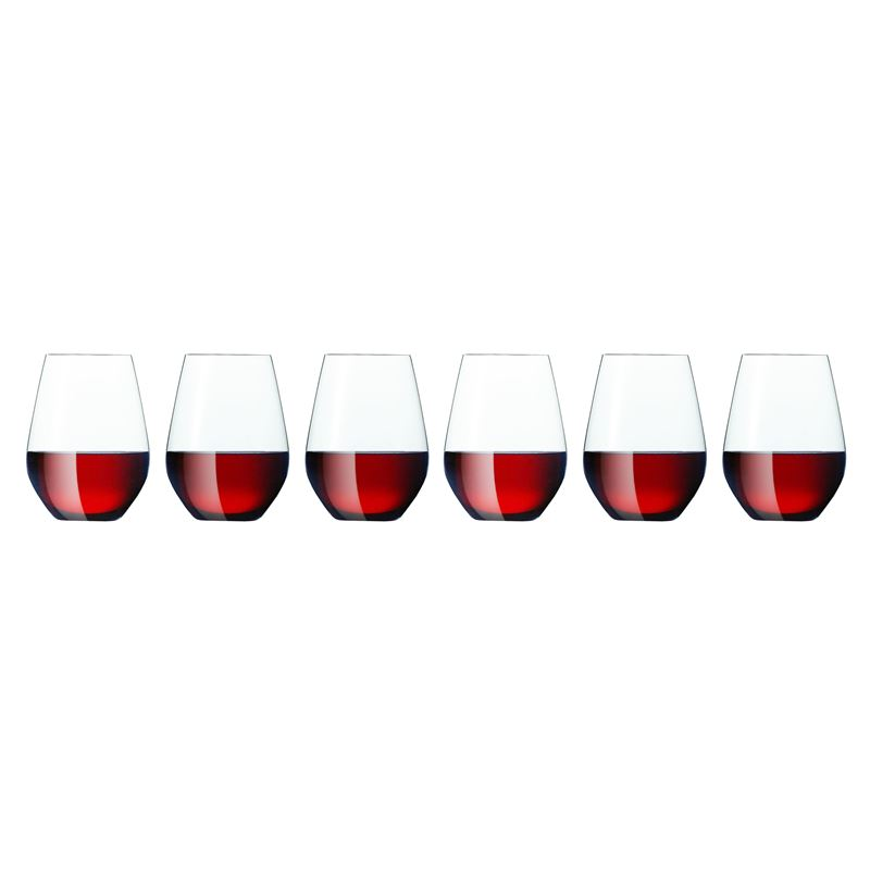 Zuhause – Style Stemless Red Wine 630ml Set of 6 (Made in Germany)