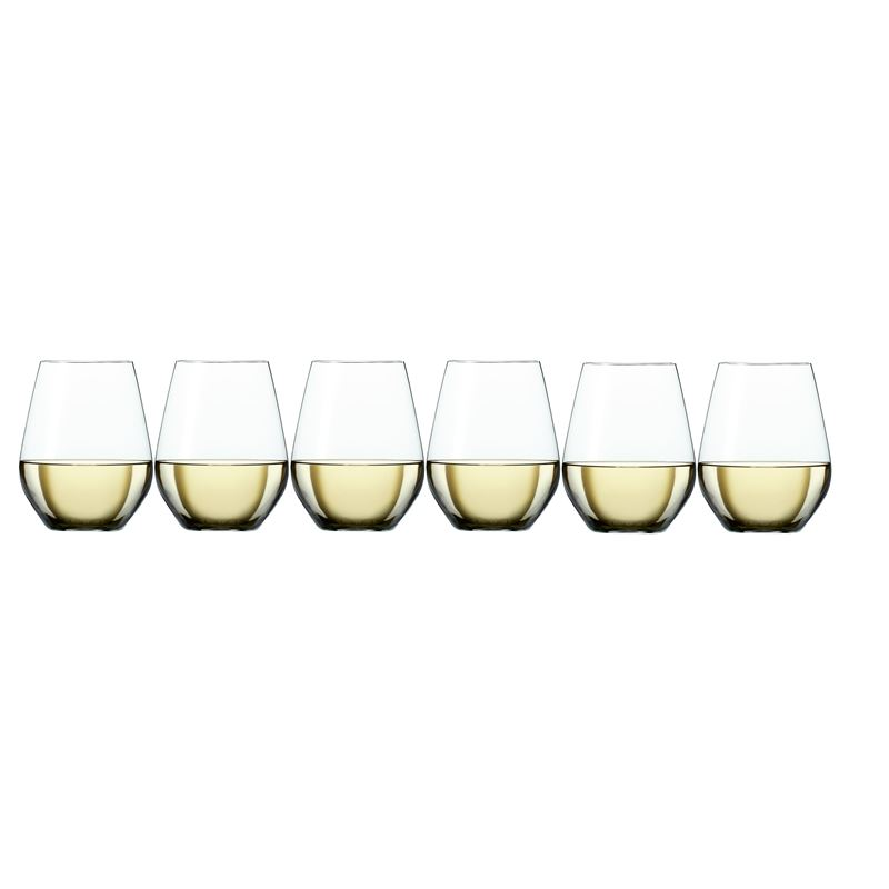 Zuhause – Style Stemless White Wine 460ml Set of 6 (Made in Germany)
