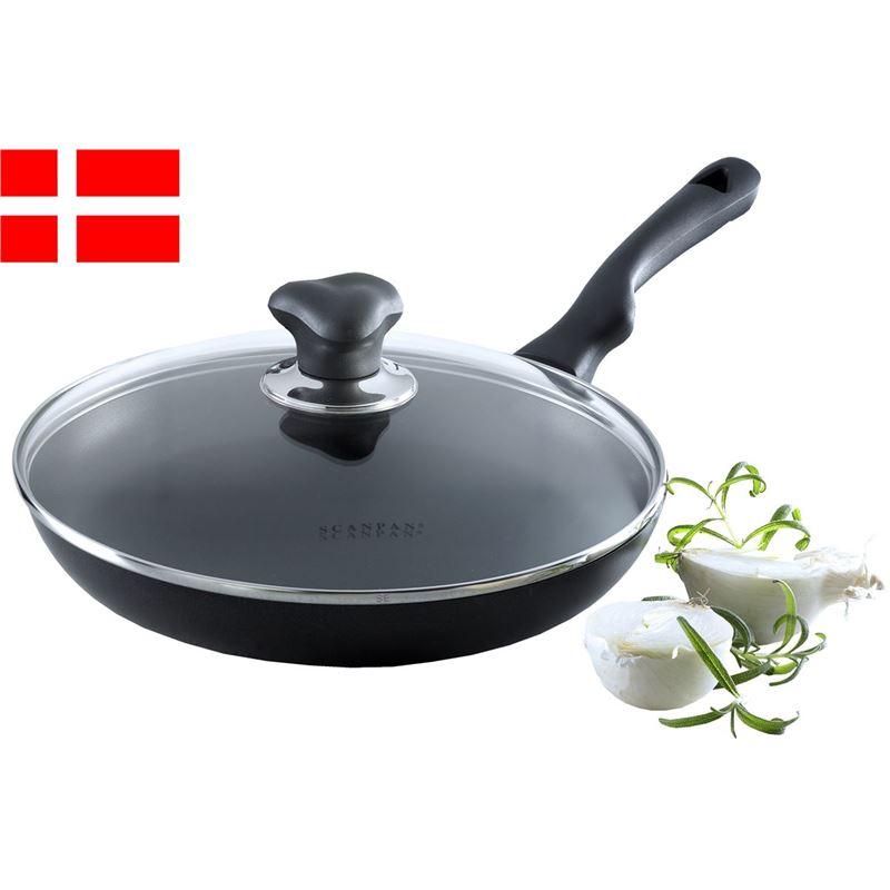Scanpan – Ergonomic Handled Stratanium Non-Stick Frypan with Lid 26cm (Made in Denmark)