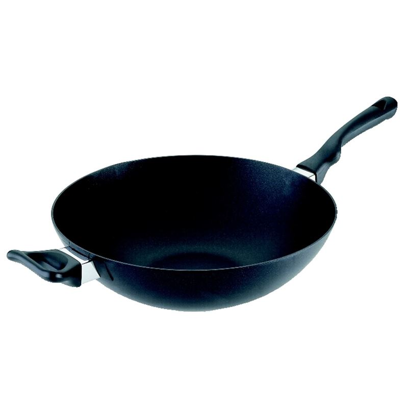 Scanpan – Ergonomic Handled Stratanium Non-Stick Wok 36cm (Made in Denmark)