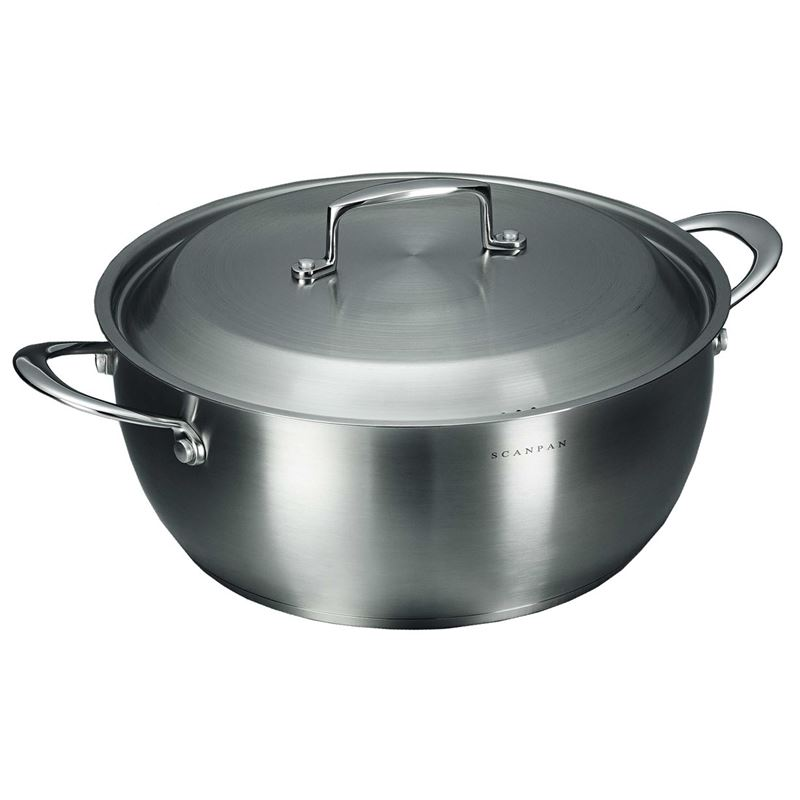 Scanpan – Satin Stewpot with Lid 32cm 8.5Ltr