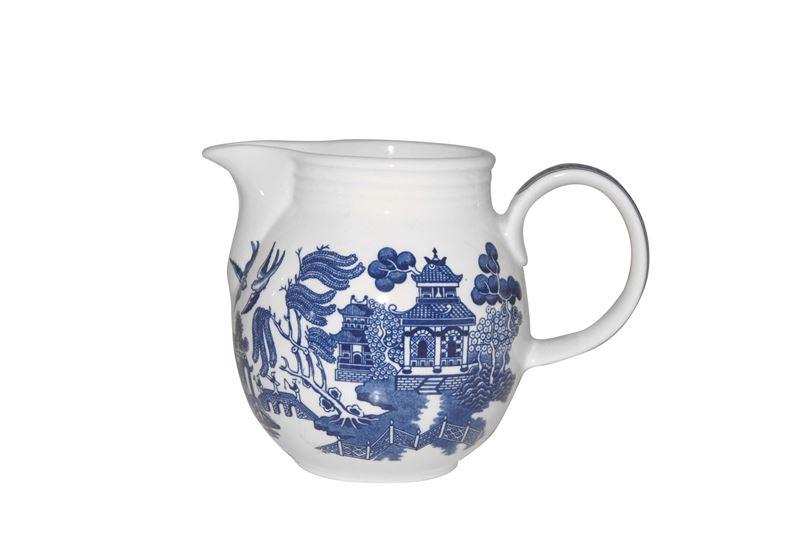 Churchill – Blue Willow Georgian Milk Jug 850ml (Made in England)