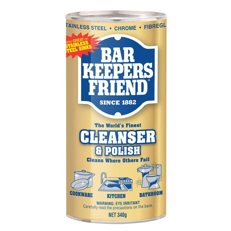 Bar Keepers Friend – Cleanser and Polish 340g