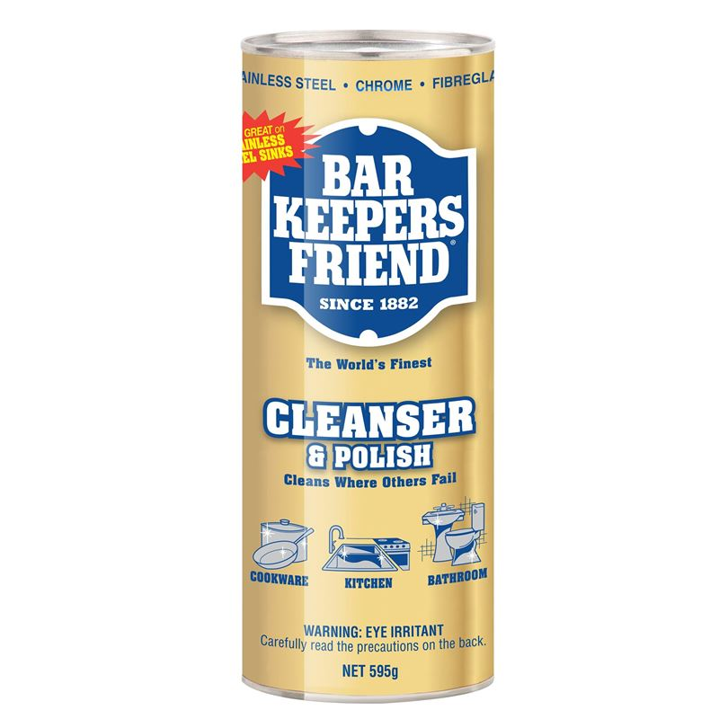 Bar Keepers Friend – Cleanser and Polish 595g