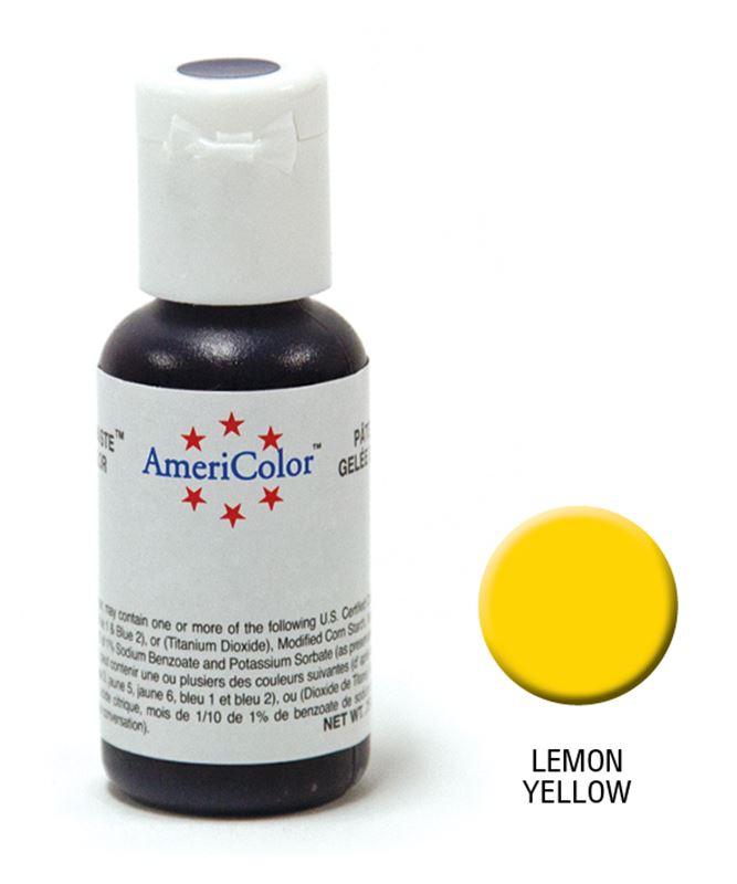 AmeriColor – Soft Gel Paste 21.3g Lemon Yellow