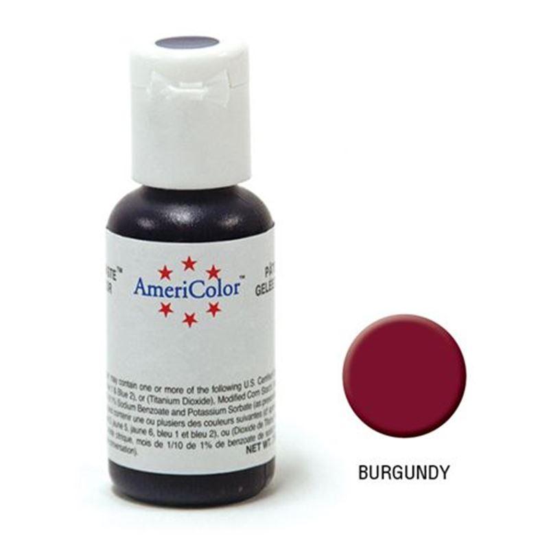 AmeriColor – Soft Gel Paste 21.3g Burgundy