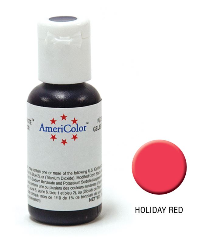 AmeriColor – Soft Gel Paste 21.3g Holiday Red