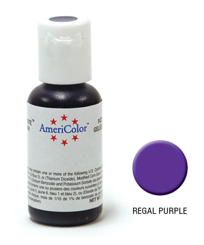 AmeriColor – Soft Gel Paste 21.3g Regal Purple