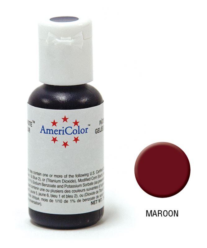 AmeriColor – Soft Gel Paste 21.3g Maroon