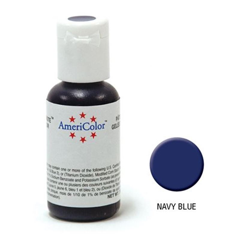 AmeriColor – Soft Gel Paste 21.3g Navy Blue