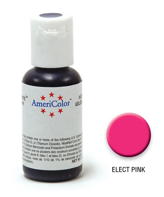 AmeriColor – Soft Gel Paste 21.3g Electric Pink