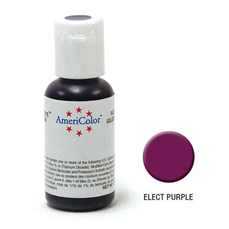 AmeriColor – Soft Gel Paste 21.3g Electric Purple