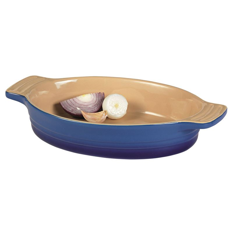 Chasseur – La Cuisson Medium Oval 28x21x6cm 1.8Ltr Baker Blue