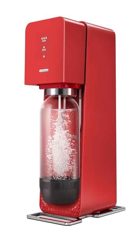 SodaStream – Source Element Sparkling Water Drinks Machine Red