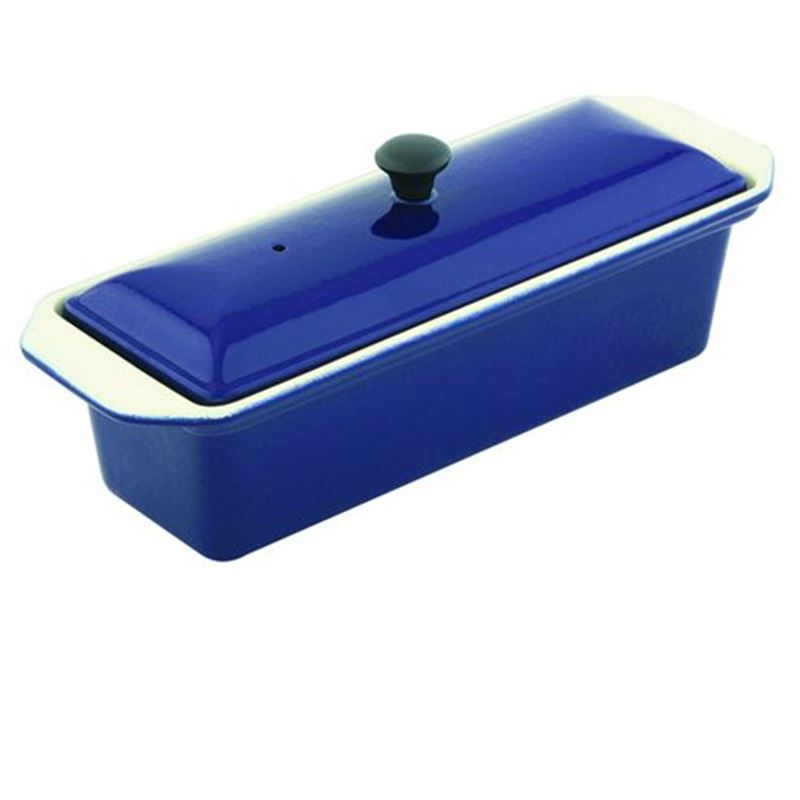Chasseur Cast Iron – French BlueTerrine 28cm (Made in France)