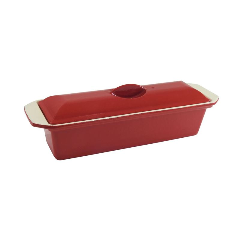 Chasseur Cast Iron – Federation Red Terrine 25cm 1Ltr (Made in France)