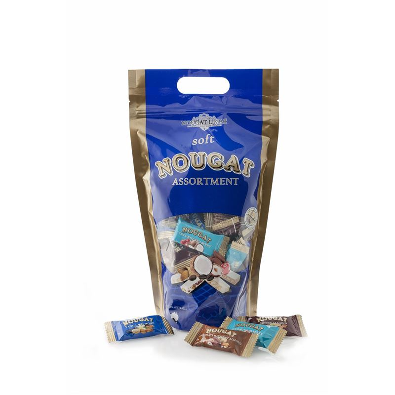 Nougat Limar – Mixed 9g Pieces of Nougat 500g Bag(Made in Australia)