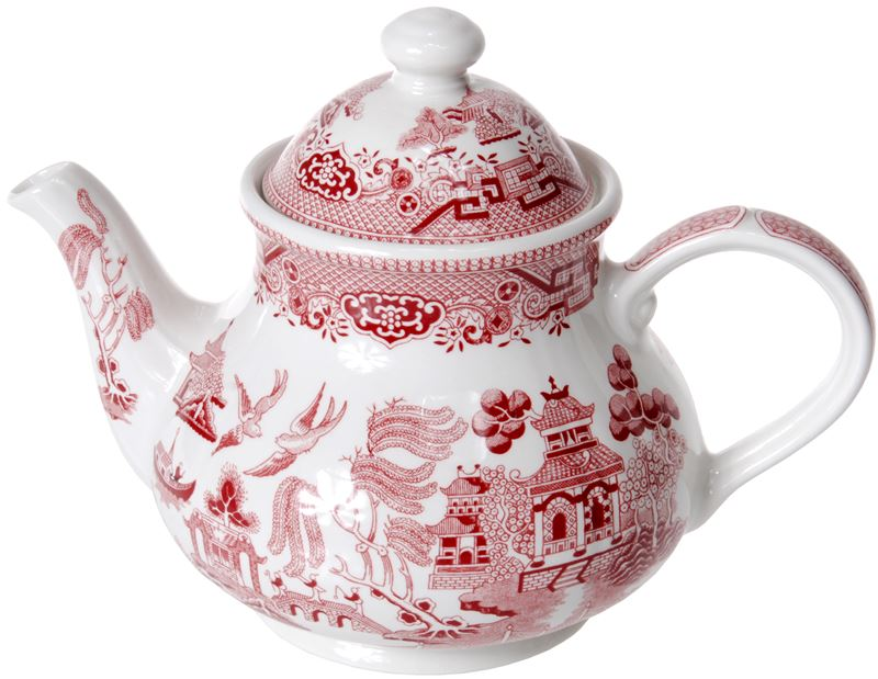 Churchill – Pink Willow Tea Pot 1.2Ltr 6 Cup (Made in England)