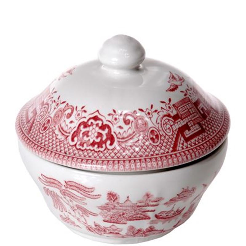 Churchill – Pink Willow Covered Sugar Bowl 160ml (Made in England)