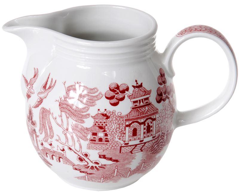 Churchill – Pink Willow Savoy Milk Jug 850ml (Made in England)