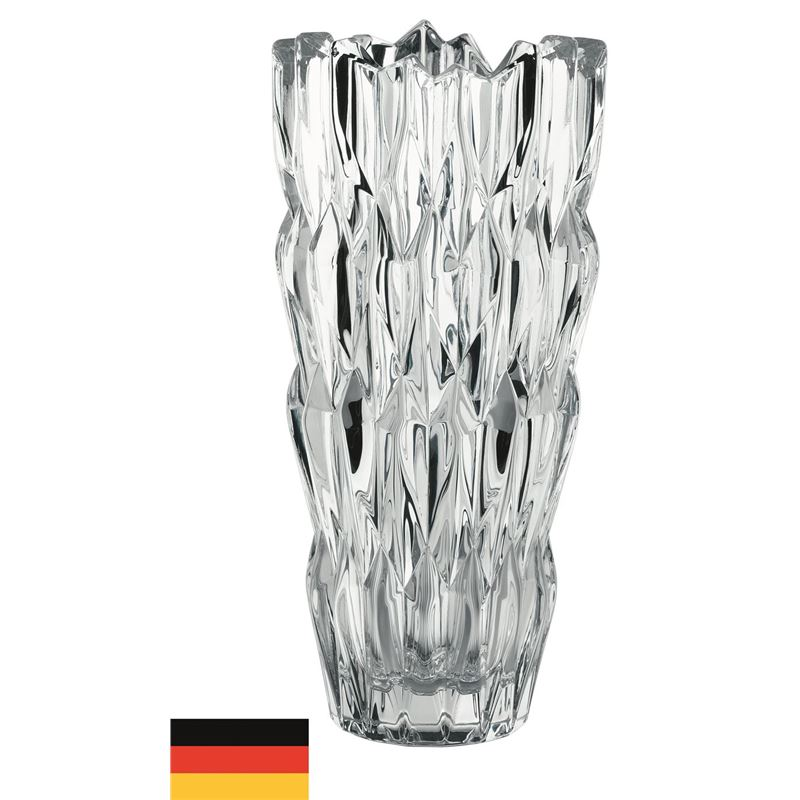 Nachtmann Crystal – Quartz Vase 26cm (Made in Germany)