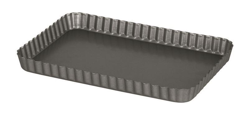 International Bakeware Company – Non-Stick Quiche Rectangular Flan Dish 32x22cm