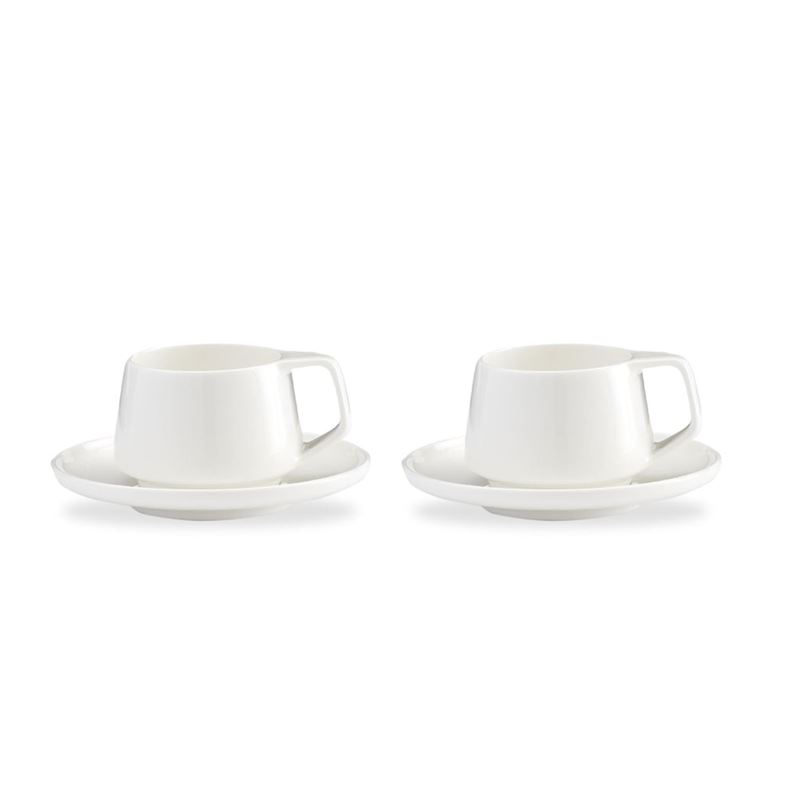Marc Newson by Noritake – Bone China Espresso Cup and Saucer 75ml Set of 2