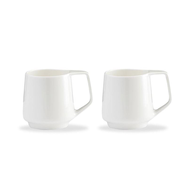 Marc Newson by Noritake – Bone China Mug 330ml Set of 2