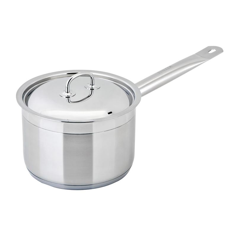 Benzer – Berlin Professional 18/10 Stainless Steel 14cm Covered Saucepan 1.2Ltr