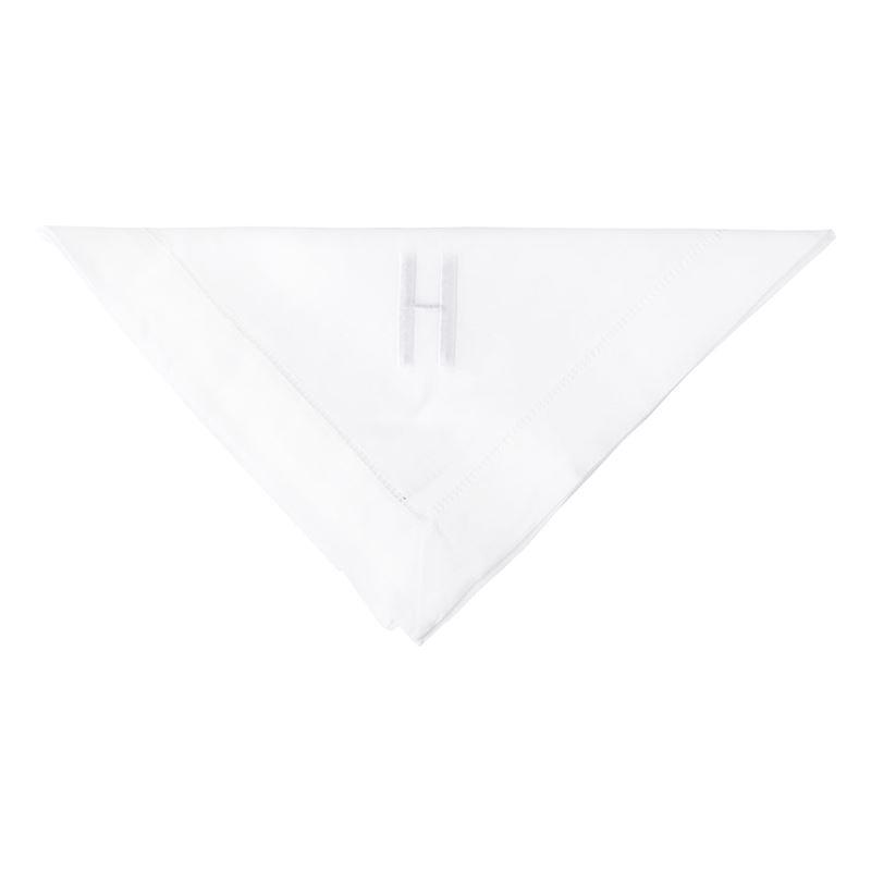 Dan Samuels – Oxford Hemstich Monogrammed Napkin 50x50cm H
