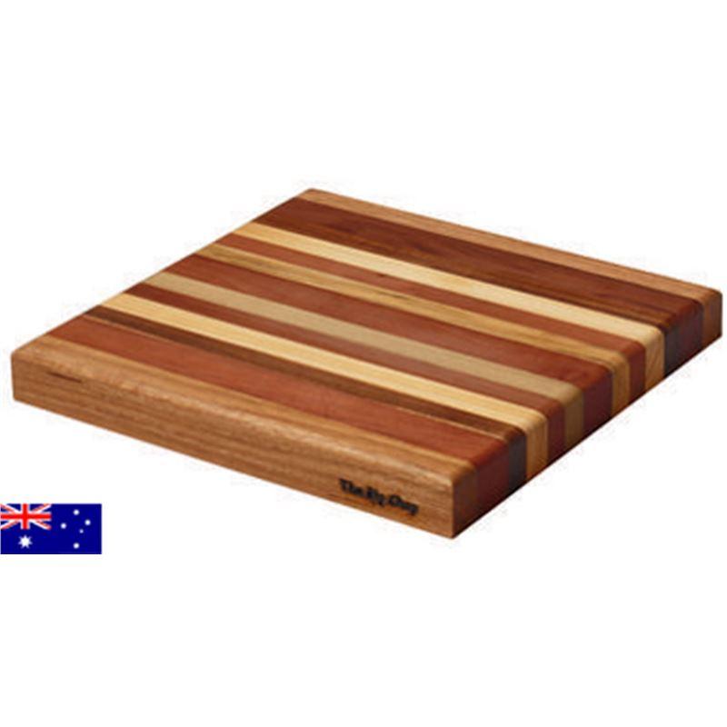 Big Chop – Derwent River Collection Square Chopping Board 34x34x4cm (Made in Australia)