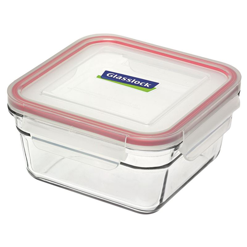 Glasslock – Tempered Glass OVEN SAFE Square Container 405ml