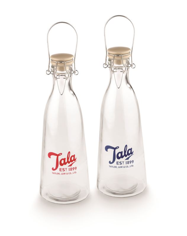 Tala – 1960's Vintage Glass Milk Bottle 1Ltr