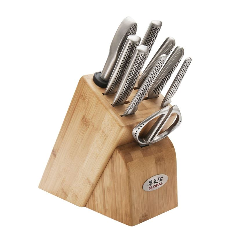 Global – Takashi 10pc Professional Knife Block Set(Made in Japan)