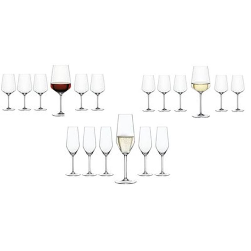 Zuhause – Style 18pc Glassware Pack (Made in Germany)